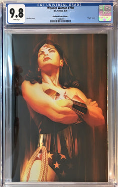 WONDER WOMAN #750 ALEX ROSS CVR B CGC 9.8