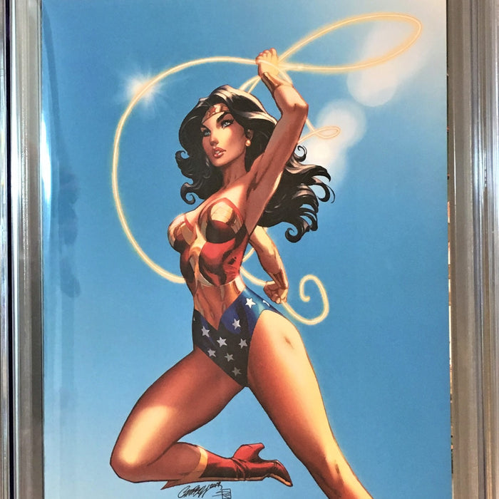 WONDER WOMAN #750 J SCOTT CAMPBELL CVR E CGC 9.8