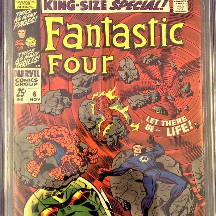 FANTASTIC FOUR ANNUAL #6 CGC 7.0