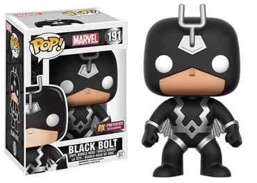 Funko POP! Black Bolt Previews Exclusive Vinyl Figure