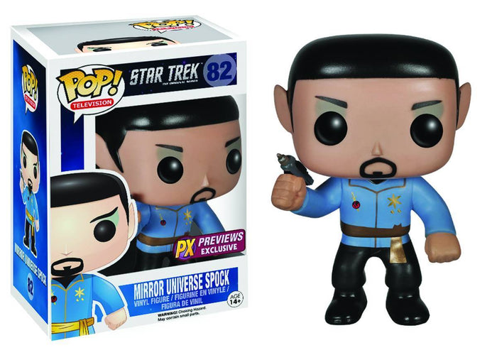 Funko POP! Star Trek: Mirror Universe Spock Exclusive Vinyl Figure