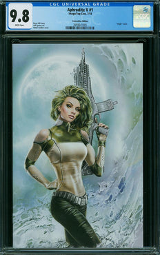APHRODITE V #1 SANDERS CONVENTION EXCLUSIVE CGC 9.8