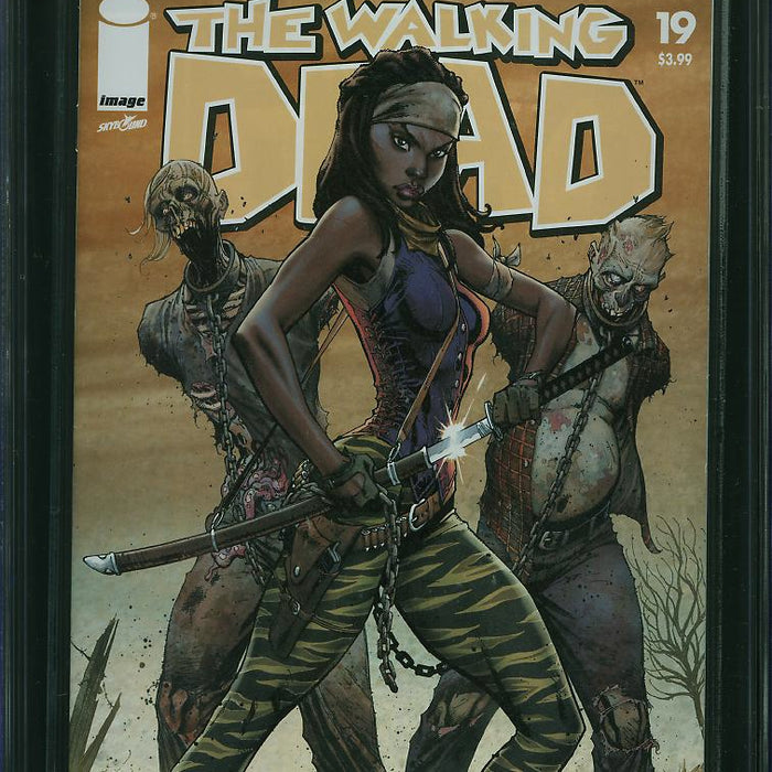 WALKING DEAD #19 15TH ANNIVERSARY VARIANT CGC 9.6