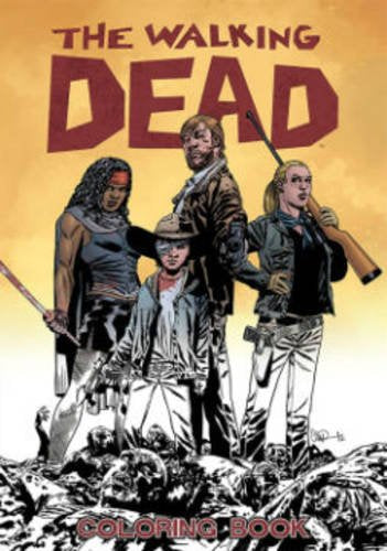 Adult Coloring Book The Walking Dead