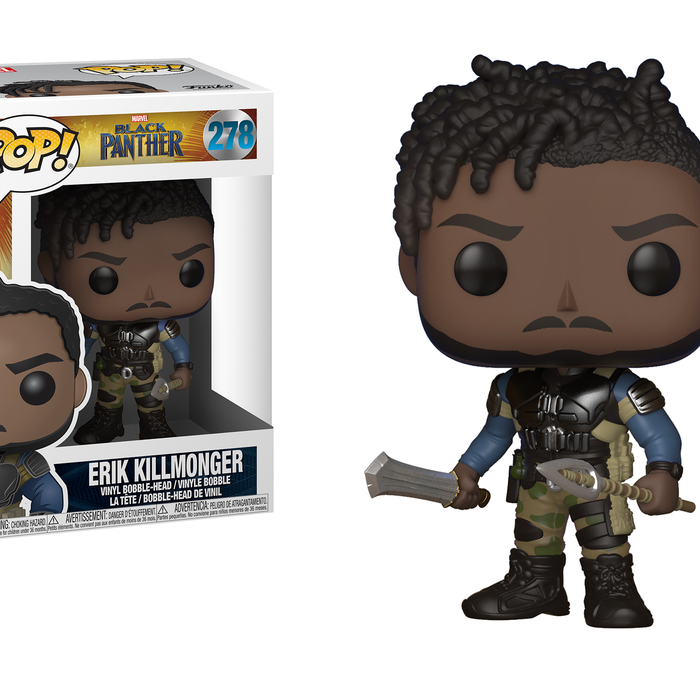 Funko POP! Marvel Black Panther Erik Killmonger Vinyl Figure