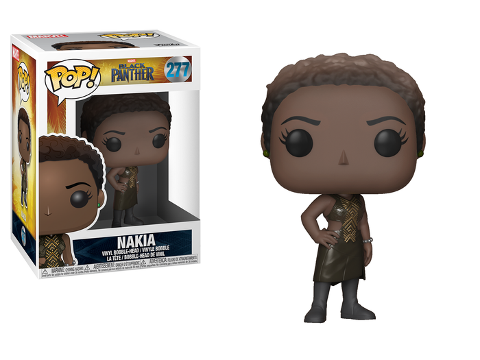 Funko POP! Marvel Black Panther Nakia Vinyl Figure