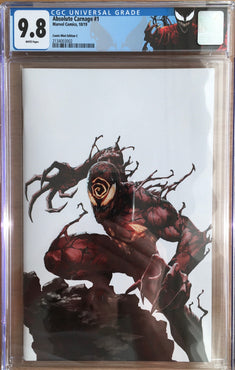 ABSOLUTE CARNAGE #1 COMIC MINT EXCLUSIVE CGC 9.8