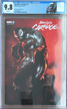 ABSOLUTE CARNAGE #1 UNKNOWN COMIC BOOKS EXCLUSIVE CGC 9.8