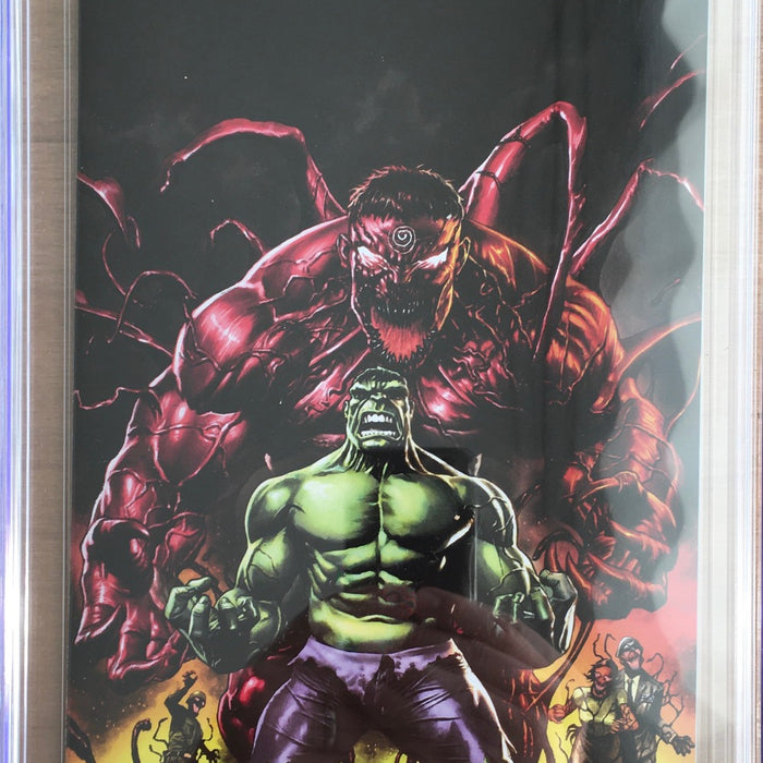 ABSOLUTE CARNAGE IMMORTAL HULK #1 UNKNOWN COMIC BOOKS EXCLUSIVE CGC 9.8