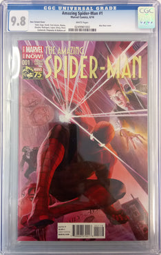 Amazing Spider-Man #1 (2014) Ross 1 in 75 variant CGC 9.8