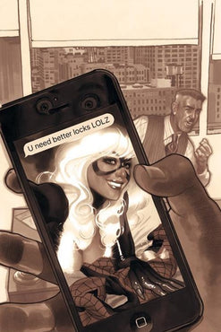 AMAZING SPIDER-MAN #1 ADAM HUGHES VIRGIN SEPIA VARIANT