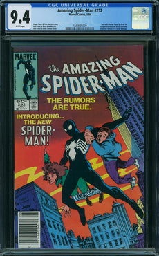 AMAZING SPIDER-MAN #252 CGC 9.4 (NEWSSTAND)