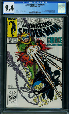 AMAZING SPIDER-MAN #298 CGC9.4