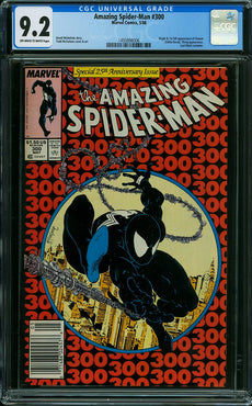 AMAZING SPIDER-MAN #300 CGC 9.2
