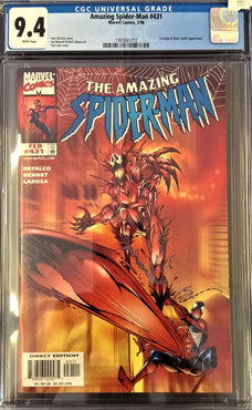 AMAZING SPIDER-MAN #431 CGC 9.4