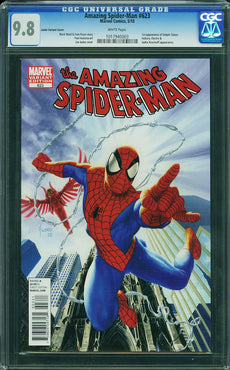 AMAZING SPIDER-MAN #623 CGC 9.8