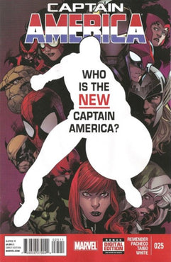 CAPTAIN AMERICA #25 VOL. 7