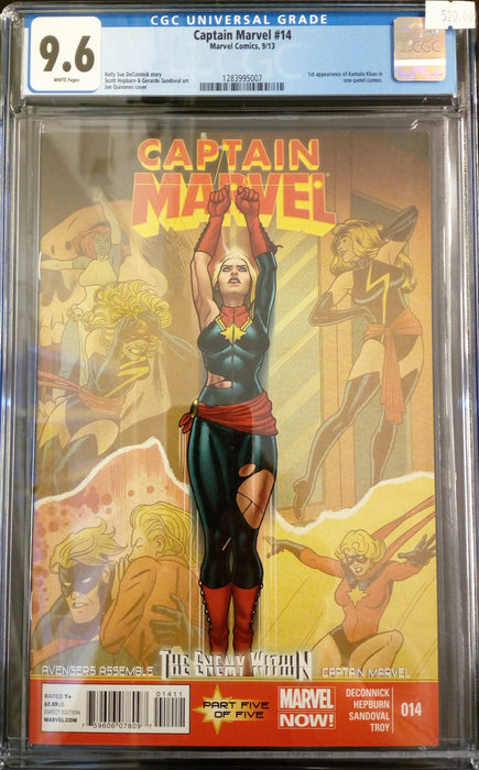 CAPTAIN MARVEL #14 CGC 9.6