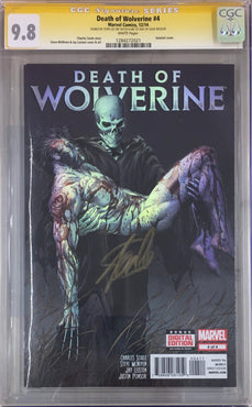 DEATH OF WOLVERINE #4 SIGNED STAN LEE CGC 9.8