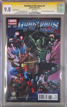 GUARDIANS OF THE GALAXY #17 WIZARD WORLD EXCLUSIVE SIGNED MARTINEZ CGC 9.8
