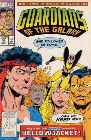 Guardians of the Galaxy #34 Vol.1 (1990)