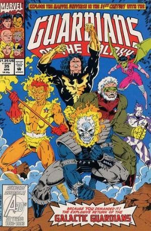 Guardians of the Galaxy #35 Vol.1 (1990)