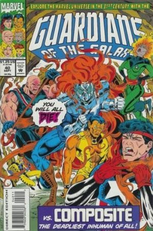 Guardians of the Galaxy #40 Vol.1 (1990)