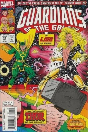 Guardians of the Galaxy #41 Vol.1 (1990)