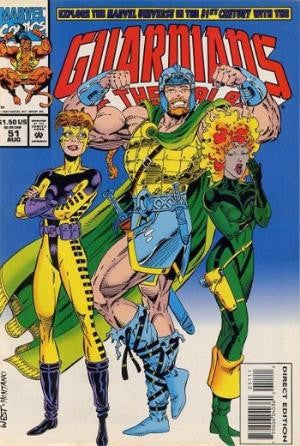 Guardians of the Galaxy #51 Vol.1 (1990)