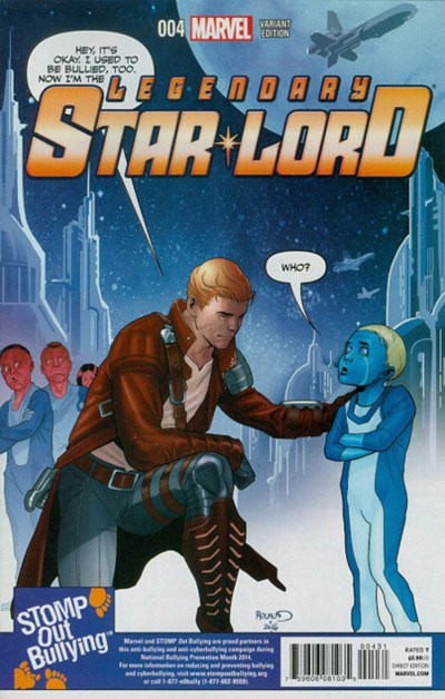 Legendary Star Lord #4B Variant