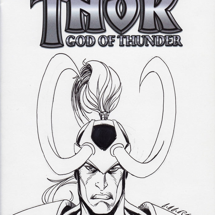 Loki Original Art by Marat Mychaels