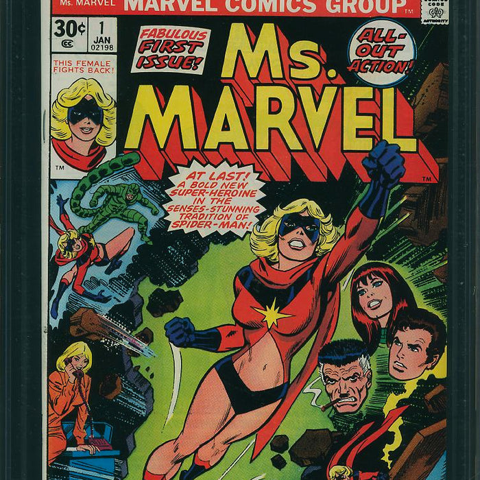 MS. MARVEL (1977) CGC 9.2