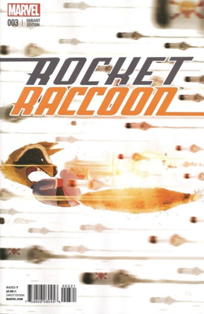 Rocket Raccoon #3C Variant
