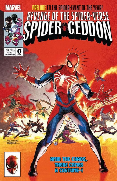 SPIDER-GEDDON #0 JAMAL CAMPBELL NYCC EXCL. 1000