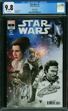 STAR WARS #1 (2020) PREMIERE EDITION CGC 9.8