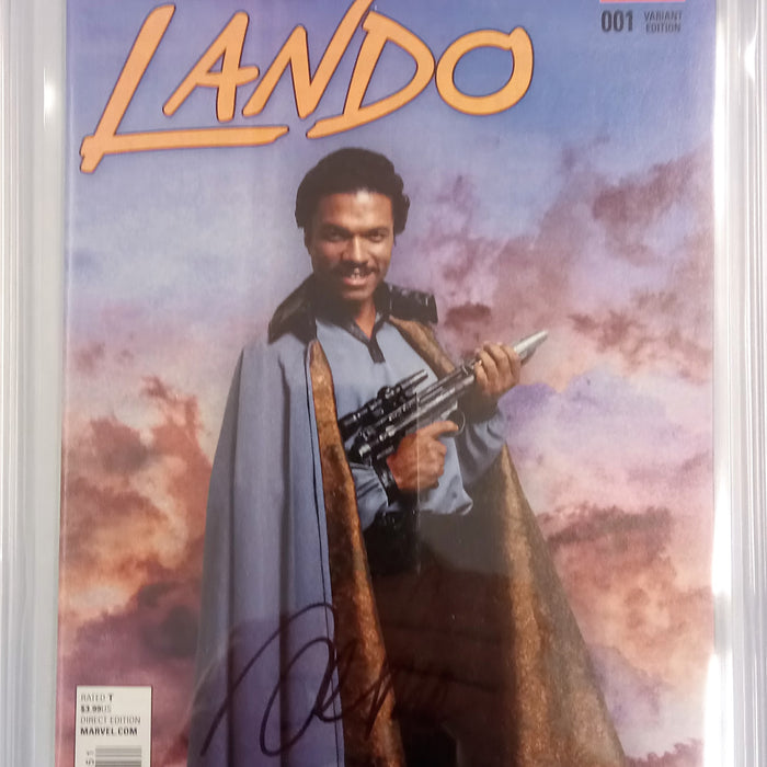LANDO #1 MOVIE VARIANT CGC SS 9.8 SIGNED MAALEV