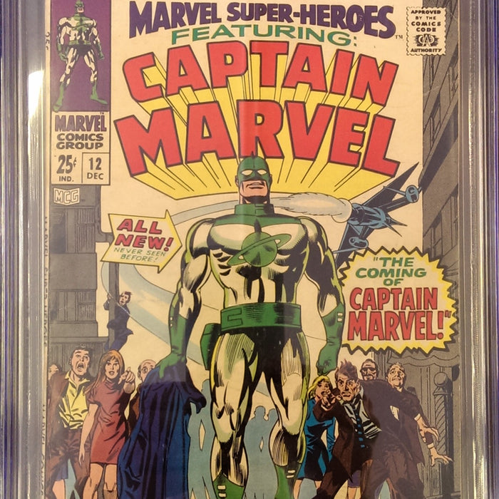 MARVEL SUPER-HEROES #12 CGC 5.5