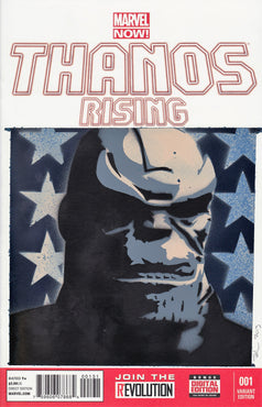Thanos Rising Original Art by Jason Adams