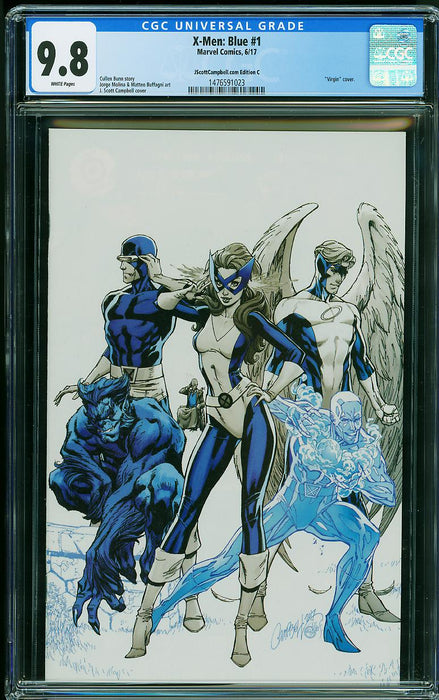 X-MEN: BLUE #1 JSC VARIANT C CGC 9.8