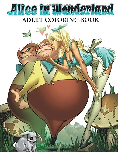 Grimm Fairy Tales Alice in Wonderland Adult Coloring Book