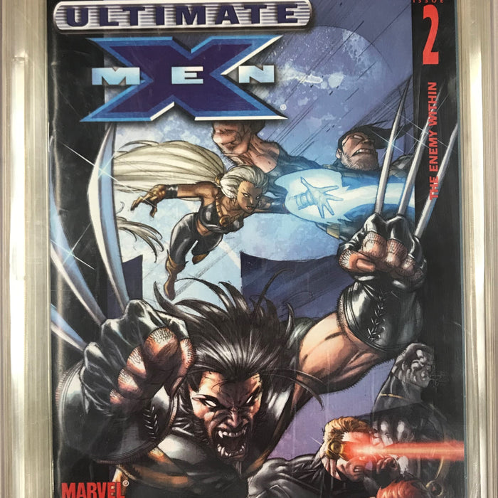 ULTIMATE X-MEN #2 CGC 9.4