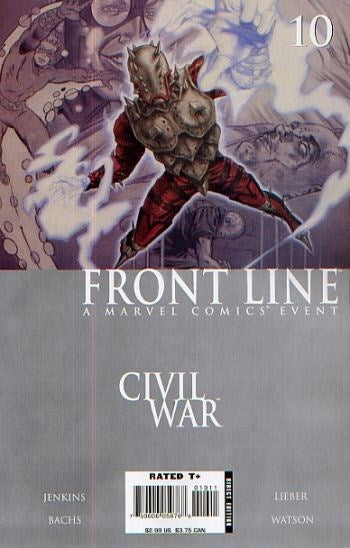 Civil War: Front Line # 10