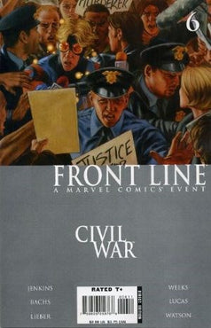 Civil War: Front Line # 6