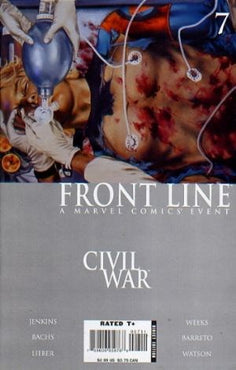 Civil War: Front Line # 7