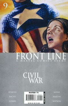 Civil War: Front Line # 9