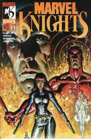 DFE Marvel Knights # 1 Variant Cover