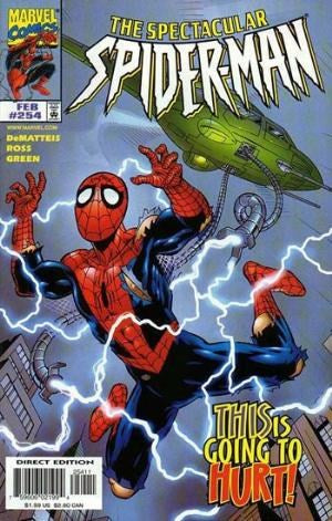 Spectacular Spider-Man # 254