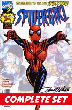 Spider-Girl set #1-50 + Annual '99