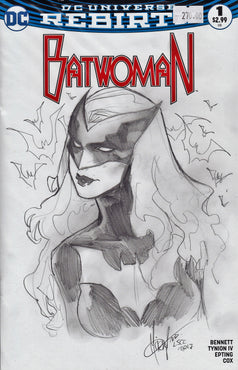 BATWOMAN Original Art by MIRKA ANDOLFO