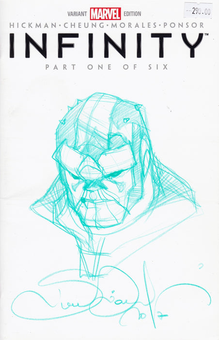 THANOS Original Art by SIMONE BIANCHI